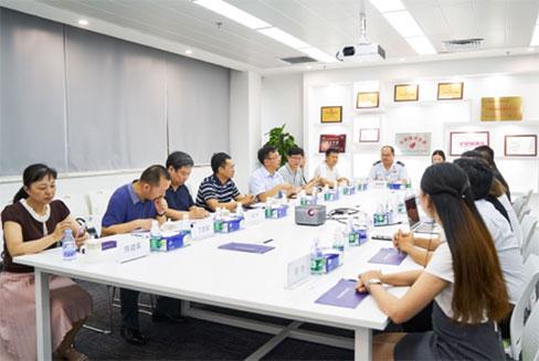 广州天河区委副书记谭明鹤一行考察调研至真科技
